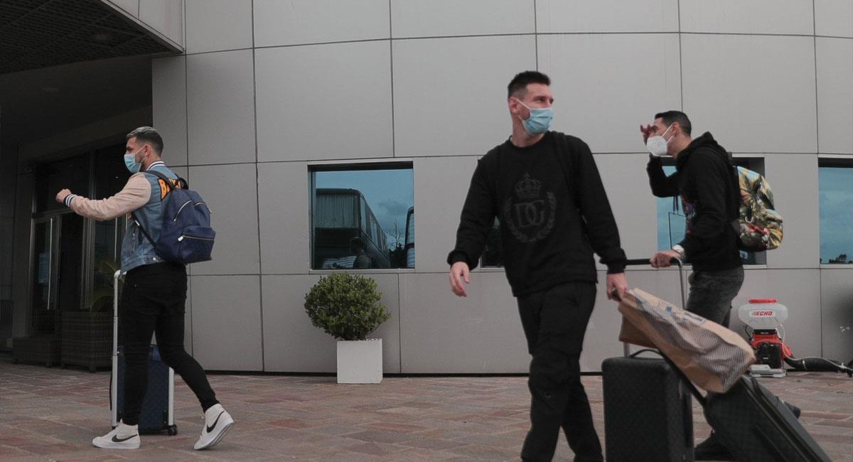 Ellos son los primeros en llegar a la Argentina. Foto: Twitter @Argentina