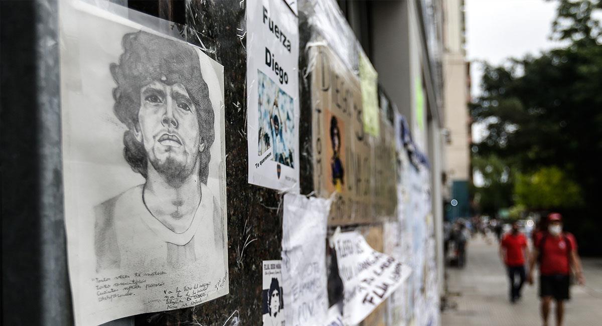 Maradona sería trasladado a una casa para su cuidado. Foto: EFE