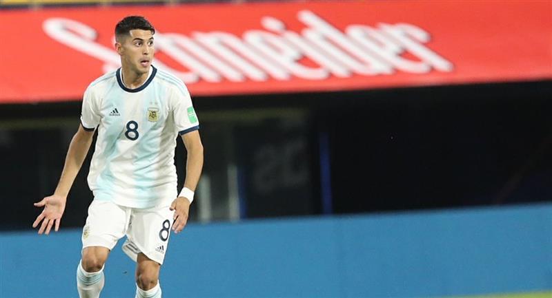 Audios del VAR sobre lesión de Palacios. Foto: Twitter @Argentina