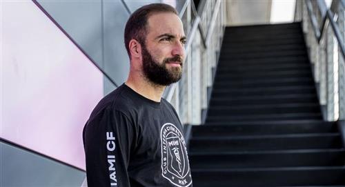 Gonzalo Higuaín dio positivo a coronavirus en el Inter de Miami