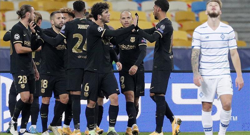 Barcelona apabulló a Dinamo Kiev este martes. Foto: EFE