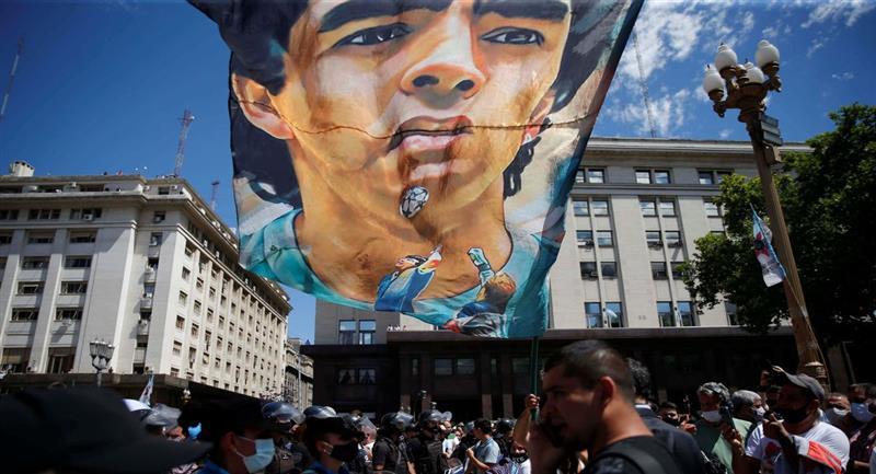 En Argentina se sigue investigando los sucedido con Diego Maradona. Foto: EFE