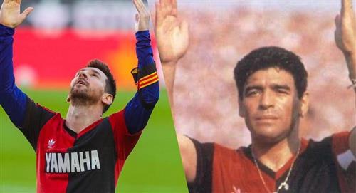 Gesto de Messi en homenaje a Maradona, podría terminar en sanción para el Barza