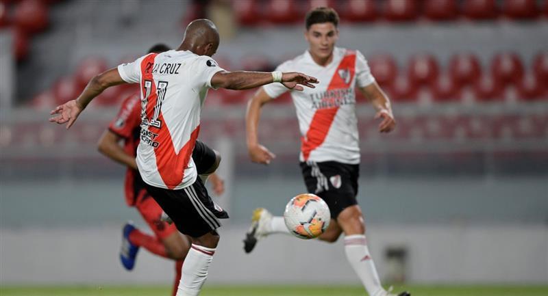 River Plate sigue adelante en la Copa Libertadores. Foto: EFE
