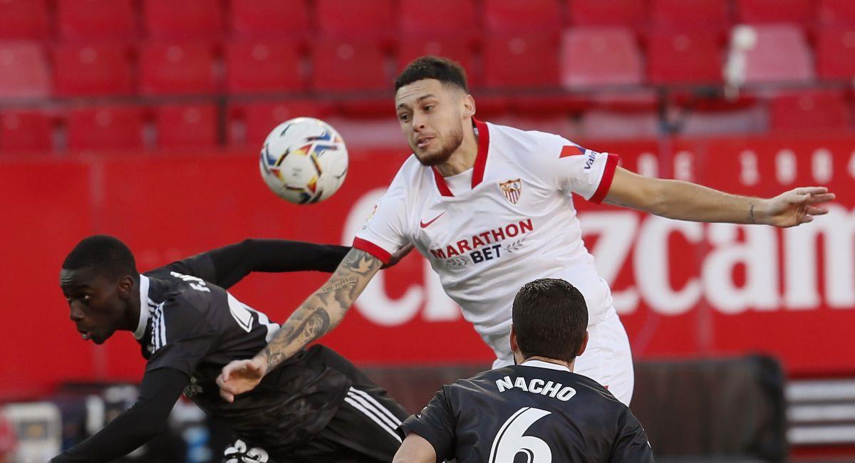 Sevilla no pudo en casa contra el Real Madrid. Foto: EFE