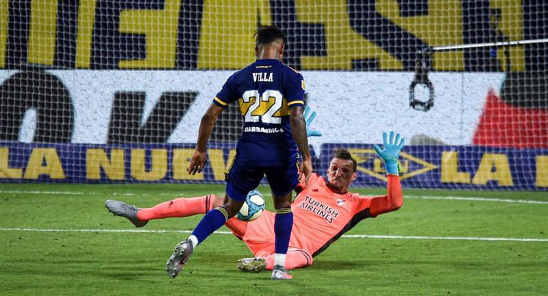 Boca Juniors pudo empatar de local frente a River Plate. Foto: EFE