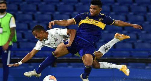 Boca no pudo con Santos