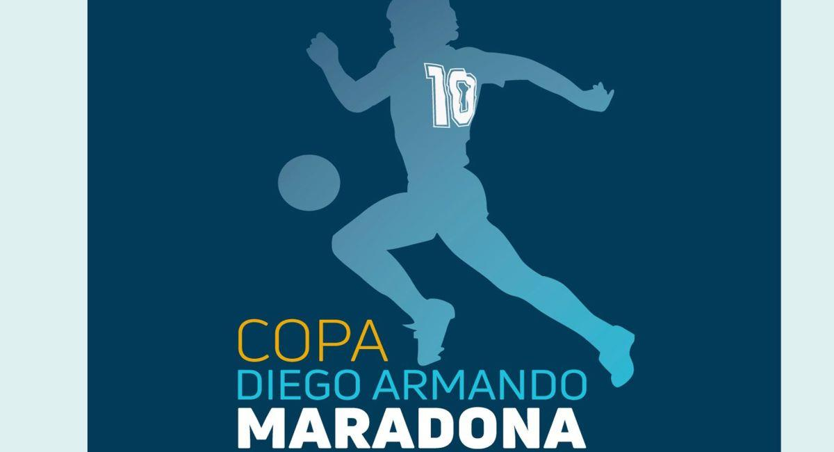 Copa Diego Maradona. Foto: Twitter