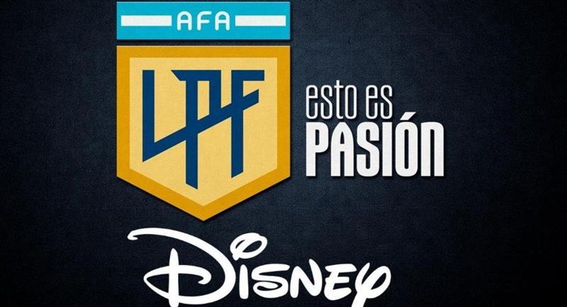 Disney y AFA llegaron a un acuerdo por el fútbol argentino. Foto: Twitter