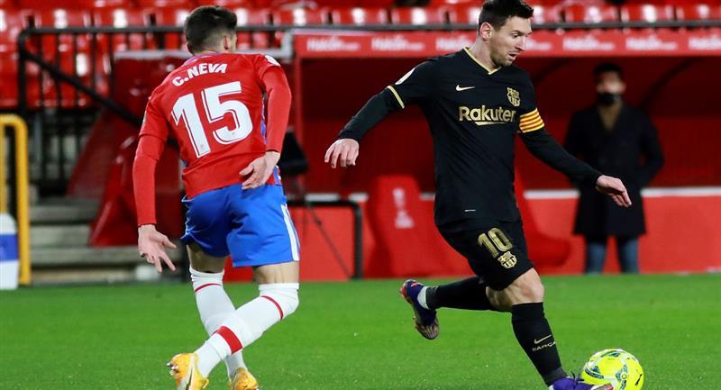 Lionel Messi, el mejor jugador que tiene el FC Barcelona. Foto: EFE