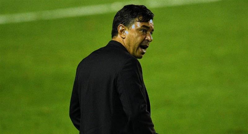 Marcelo Gallardo sumó un nuevo traspié con River Plate. Foto: Twitter