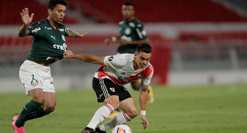 River Plate quiere un épico resultado ante Palmeiras. Foto: EFE