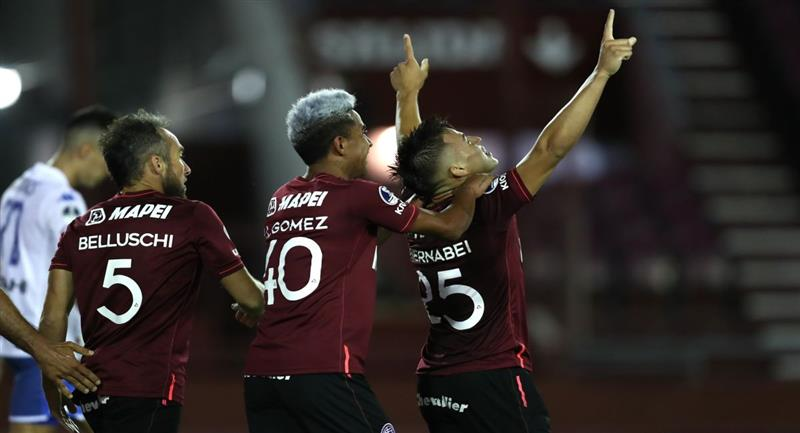 Lanús es finalista de la Copa Sudamericana. Foto: EFE