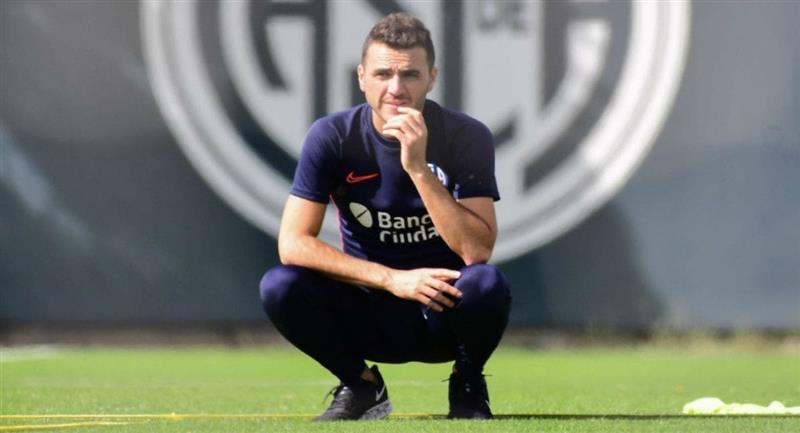 Mariano Soso renunció a la dirección técnica de San Lorenzo. Foto: Club San Lorenzo