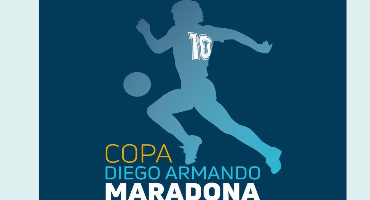 La Copa Diego Maradona aguarda por su gran final. Foto: Twitter