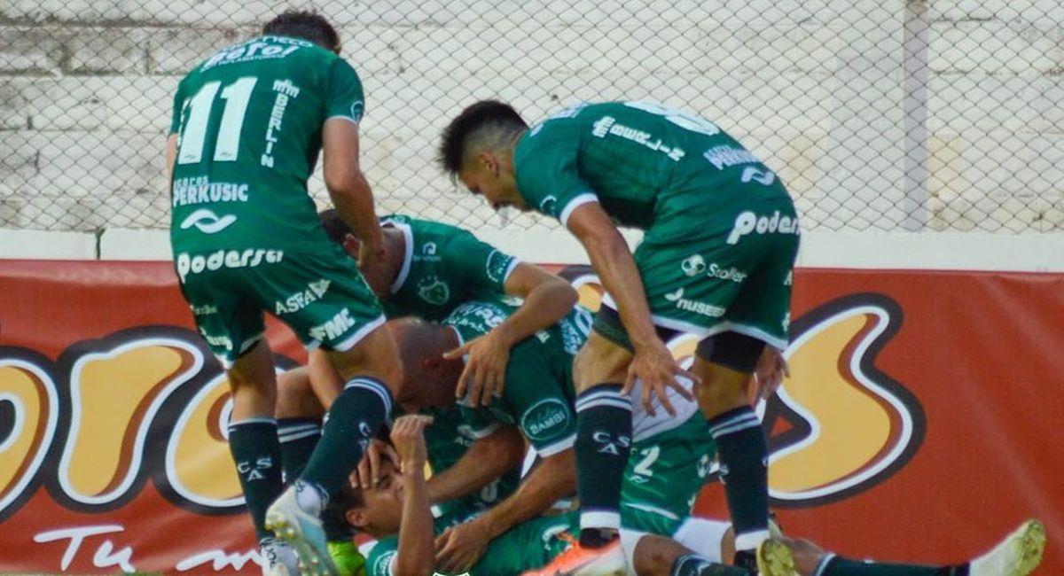 Atlético Sarmiento logró ascender a la Liga Profesional. Foto: Facebook Club Atlético Sarmiento