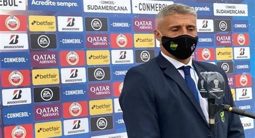 Hernán Crespo y su satisfacción por Defensa y Justicia en la Copa Sudamericana