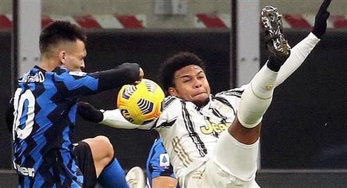 Lautaro Martínez, presente en triunfo del Inter sobre Juventus