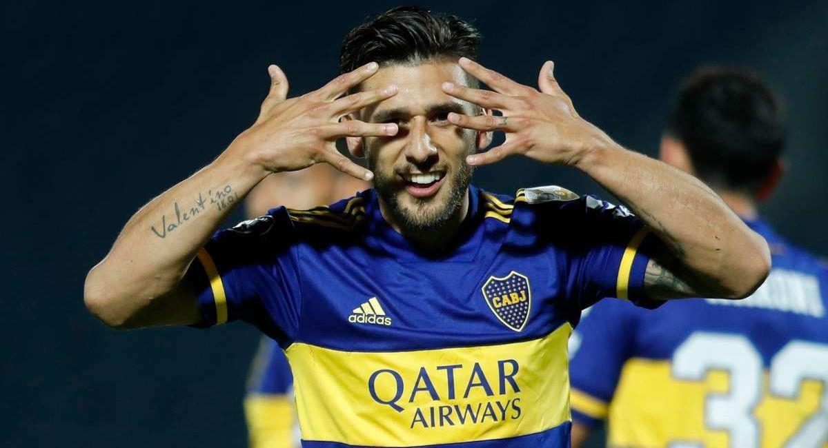 Eduardo Salvio seguirá jugando en Boca Juniors. Foto: Twitter