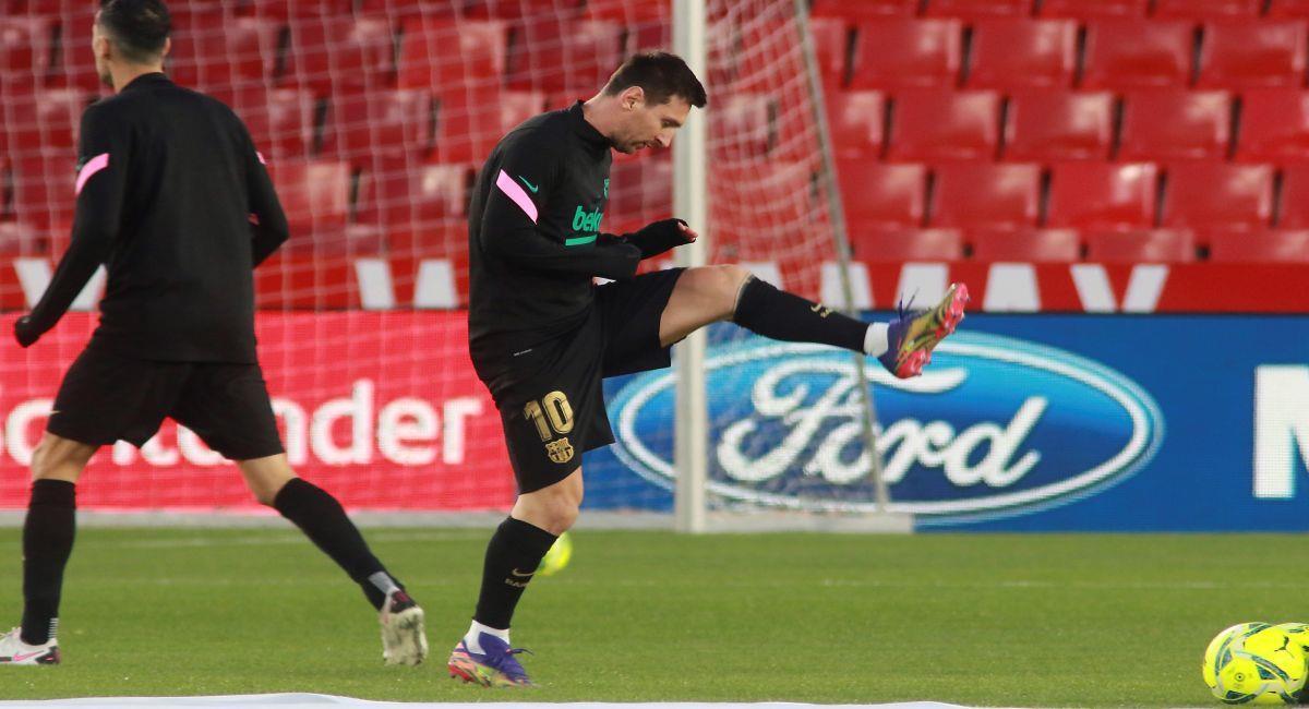 Lionel Messi está a la espera del reclamo presentado por el Barcelona. Foto: EFE