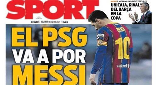 ¿Lionel Messi interesa al PSG?
