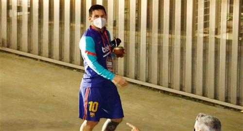 Lionel Messi ya conoce su sanción tras ser expulsado en la Supercopa de España