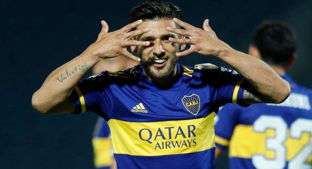Eduardo Salvio cree que Boca ya puede pelearle a River. Foto: Twitter
