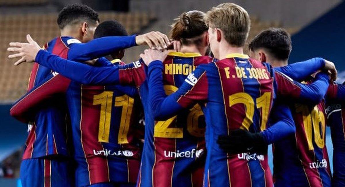 Barcelona se medirá ante el Cornella en la Copa del Rey. Foto: Facebook Club Barcelona