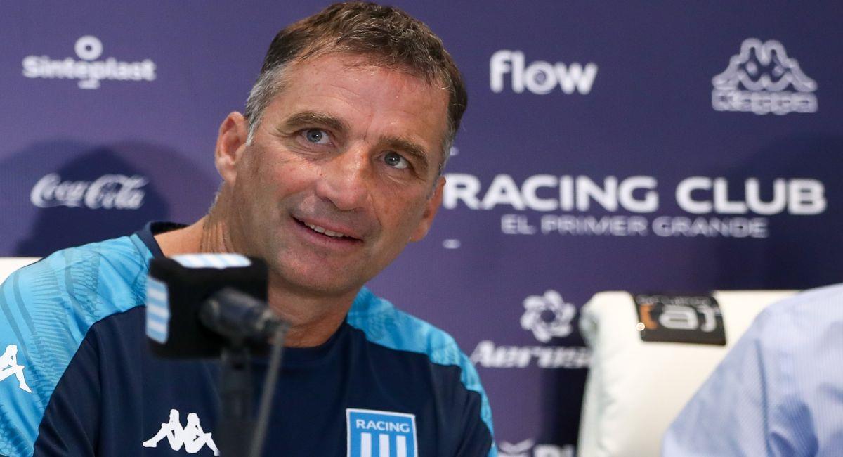 Juan Antonio Pizzi es el nuevo entrenador de Racing Club. Foto: EFE