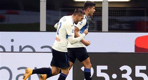 Cristian Romero brilló en goleada del Atalanta al AC Milan