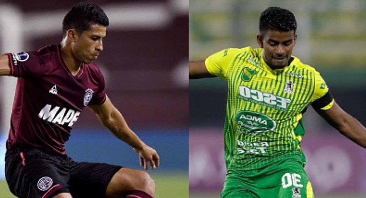 Lanús y Defensa y Justicia buscan la Copa Sudamericana. Foto: Twitter