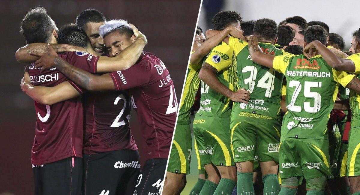Lanús y Defensa y Justicia son los finalistas de la Copa Sudamericana. Foto: Twitter