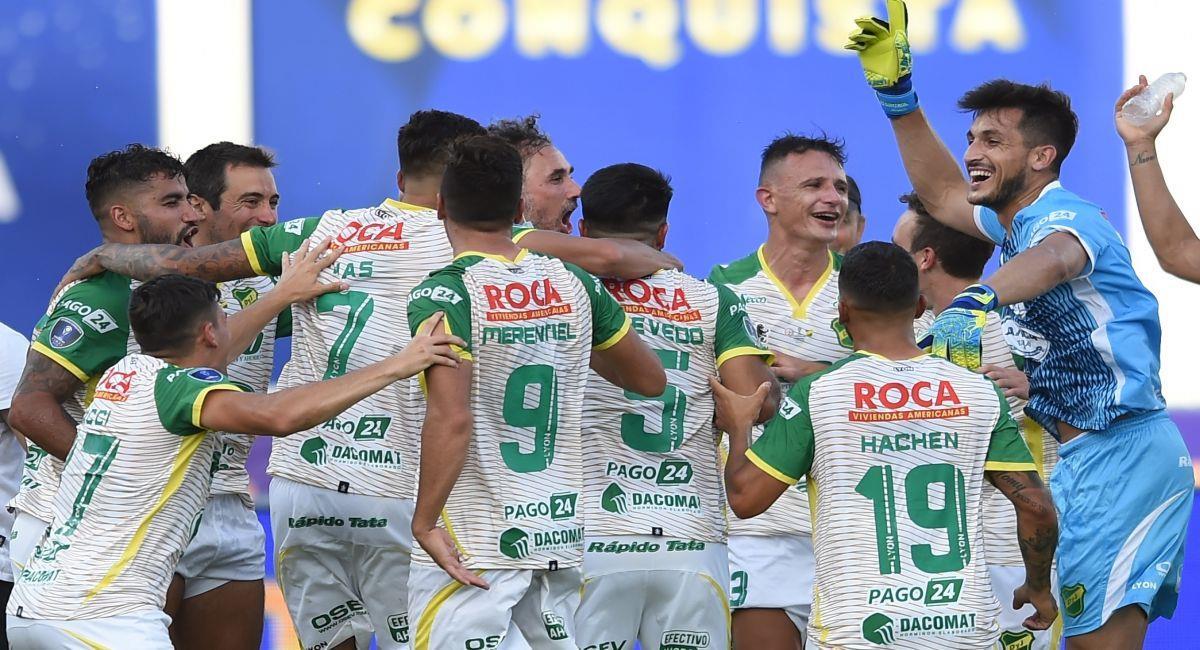 Defensa y Justicia es el campeón de la Copa Sudamericana. Foto: EFE