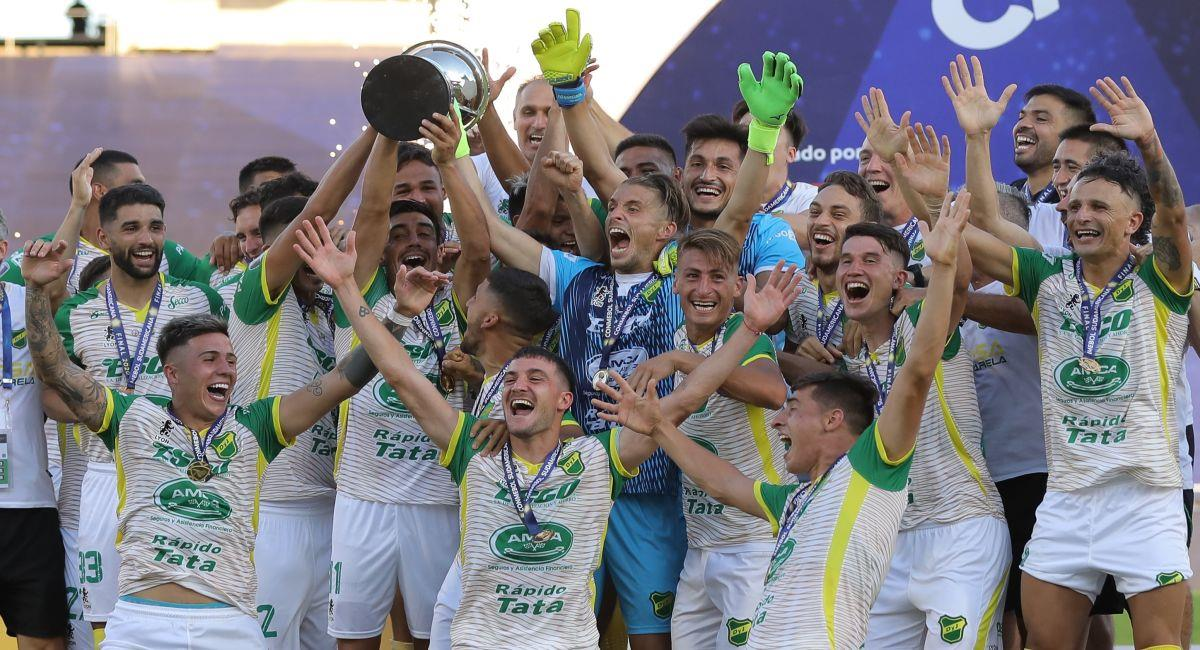 Defensa y Justicia se hará presente en la Copa Libertadores. Foto: EFE