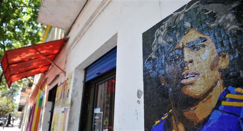Diego Maradona: sus murales se lucen en todo Argentina
