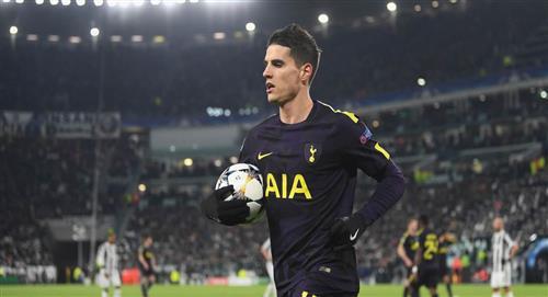 Erik Lamela, presente en triunfo del Tottenham en la Copa FA