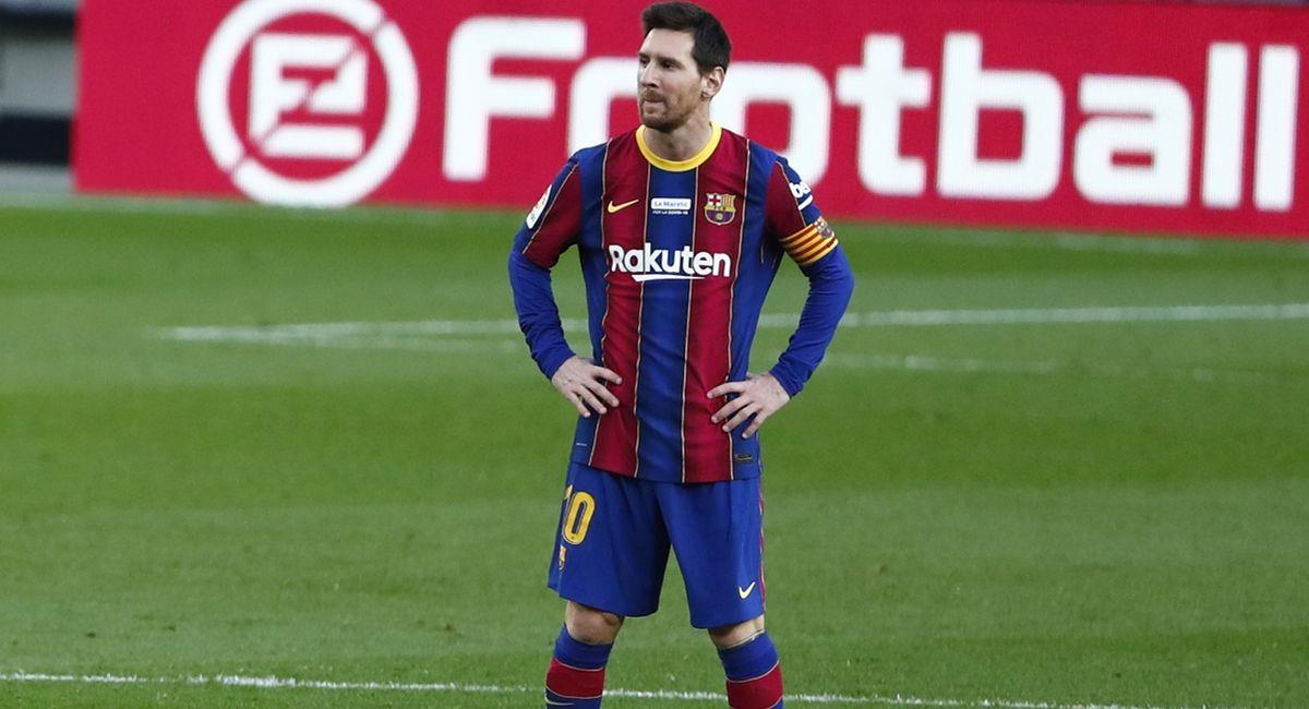Lionel Messi vuelve a jugar con el Barcelona. Foto: Twitter