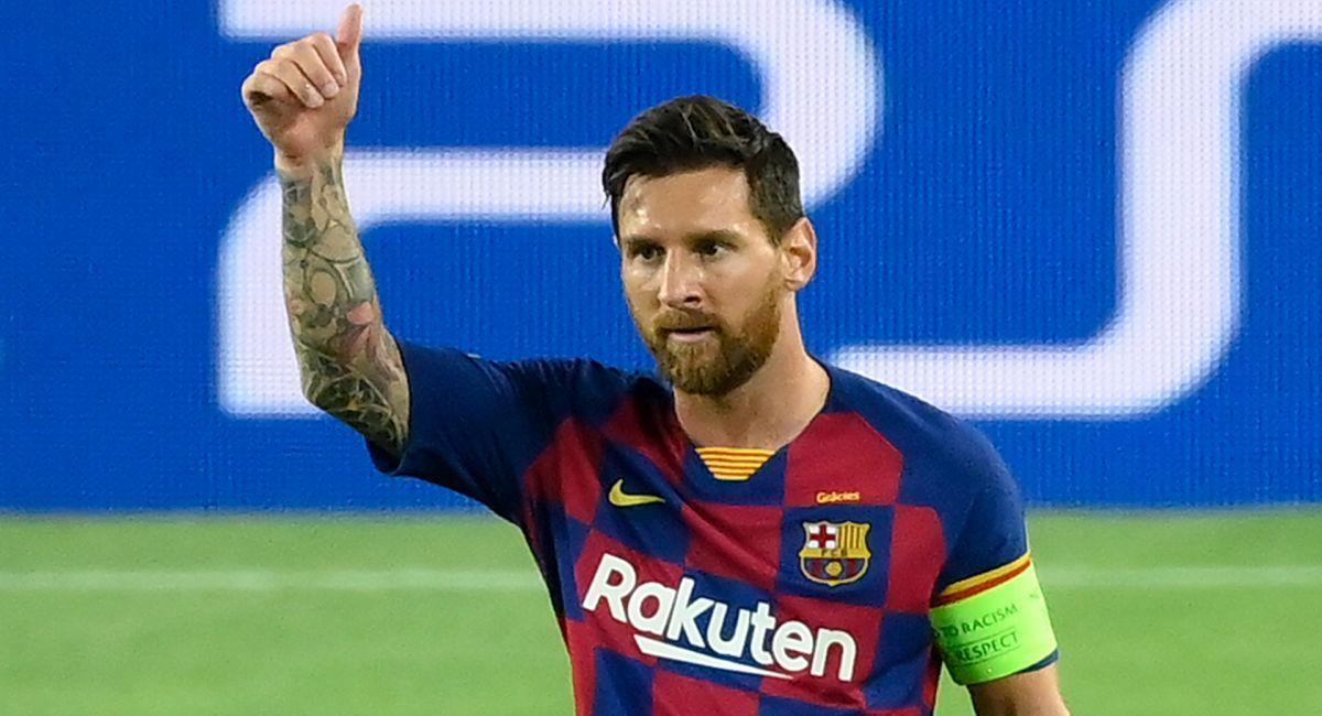 Lionel Messi en la mira del PSG de Francia. Foto: Twitter