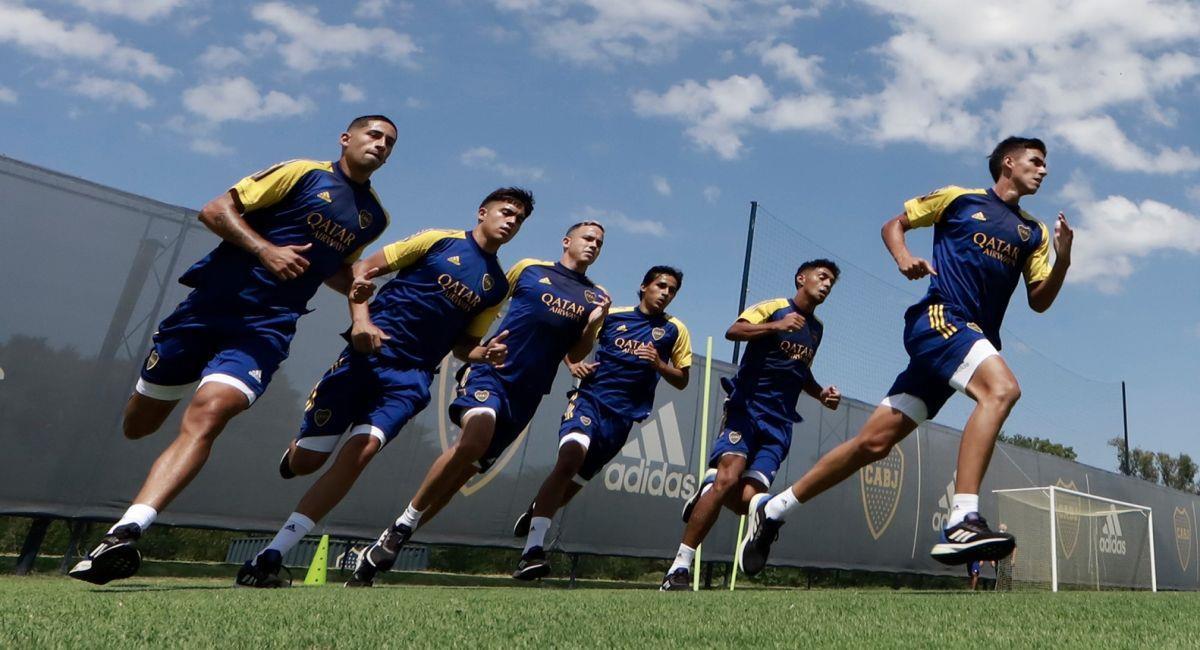 Boca Juniors ya trabaja en su pretemporada. Foto: Facebook Club Boca Juniors