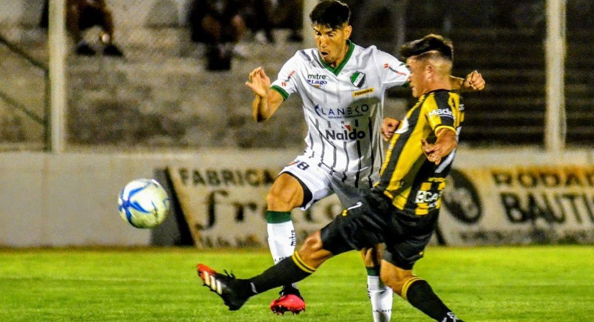 Partido por el Torneo Federal. Foto: Facebook Club Villa Mitre