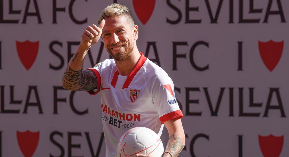 Papu Gómez seguirá compitiendo en la Champions League. Foto: Facebook Club Sevilla