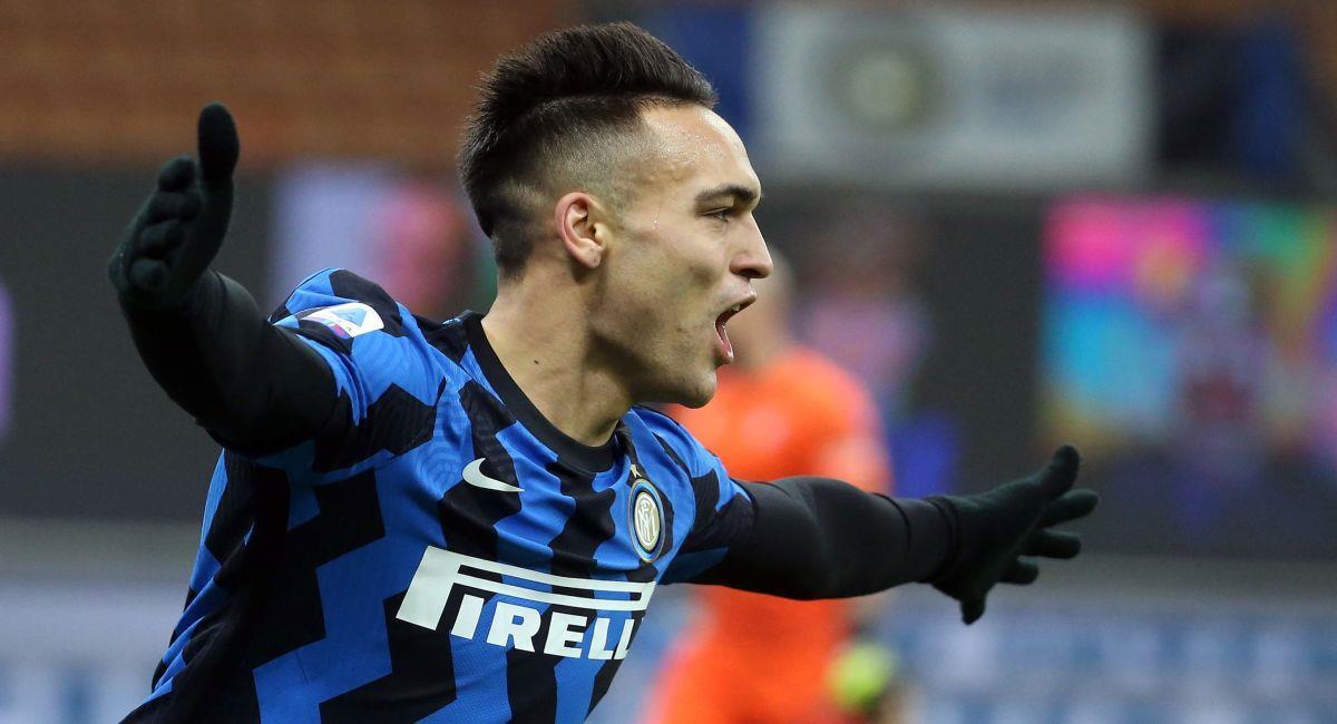 Lautaro Martínez sigue haciendo goles con el Inter de Milán. Foto: EFE