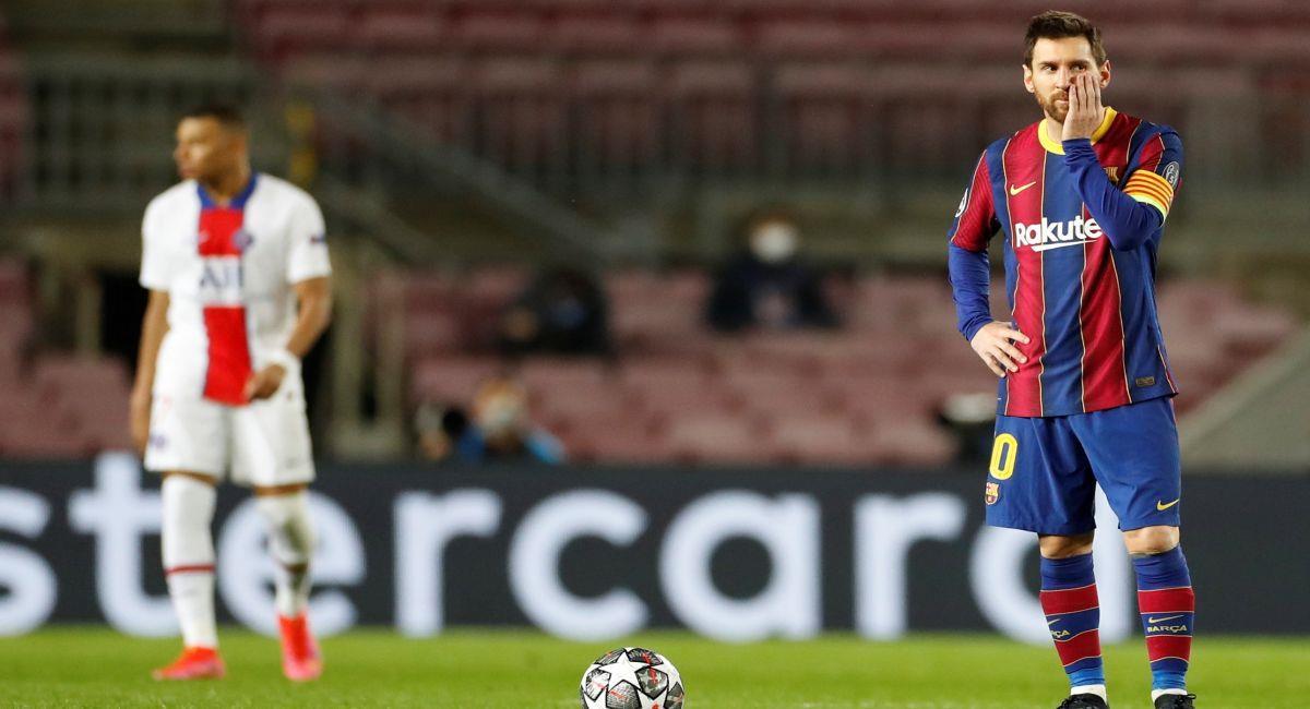 Barcelona fue barrido por el PSG en la Champions League. Foto: EFE