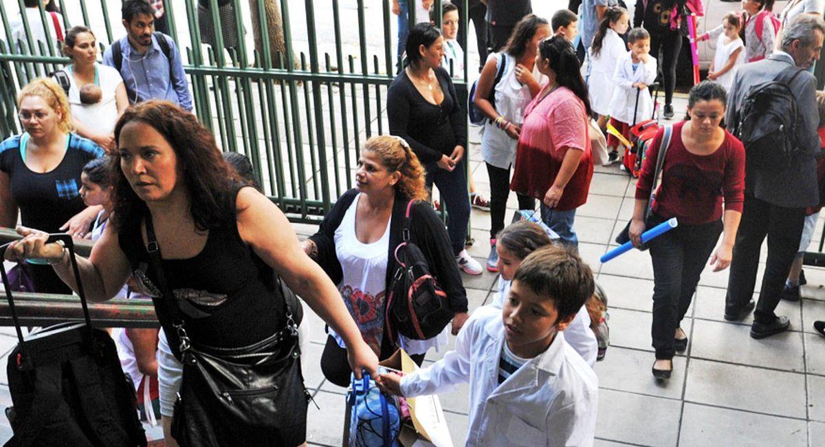 Ya está por iniciarse el año escolar en la Argentina. Foto: Telam