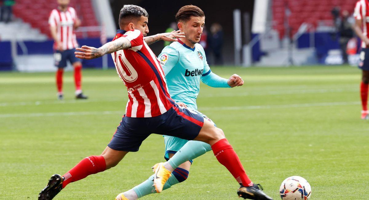 Atlético de Madrid no pudo con Levante. Foto: EFE