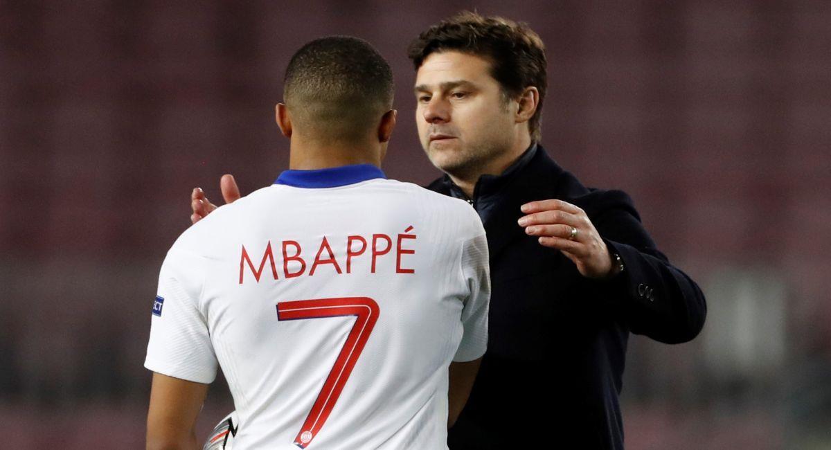 Mauricio Pochettino no se fía de su ventaja sobre el Barcelona. Foto: EFE