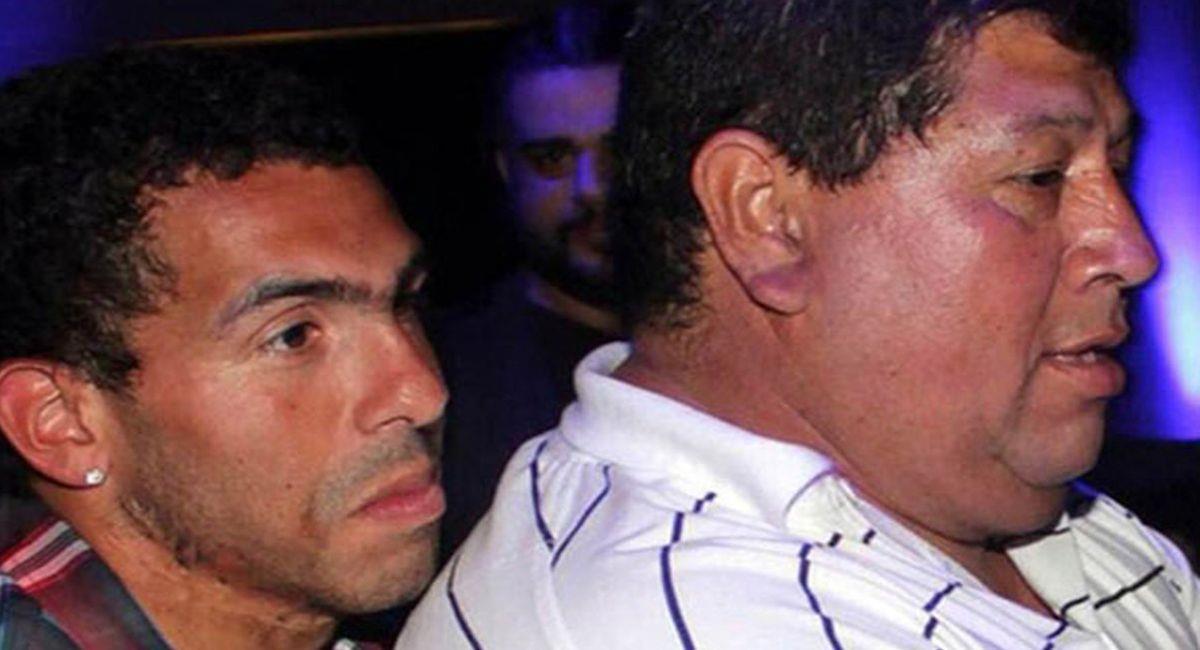 Carlos Tévez está de luto tras muerte de su padre. Foto: Twitter