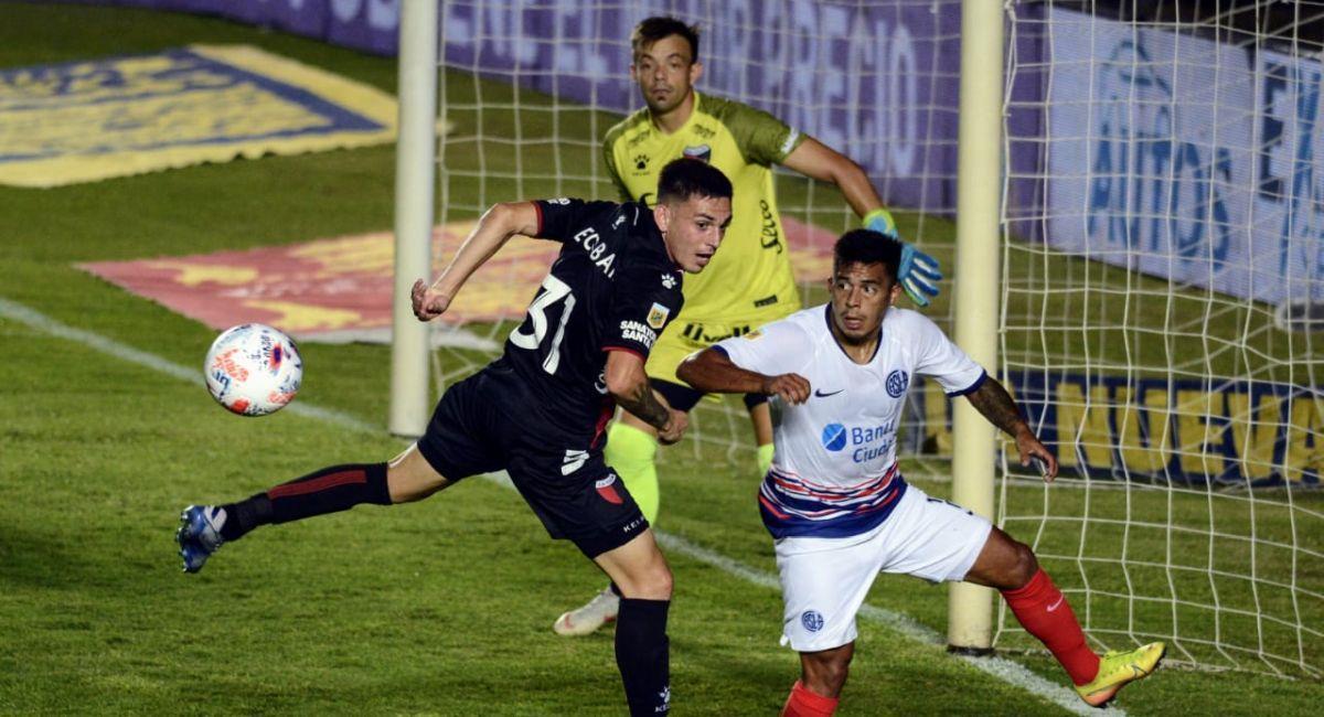 Colón es líder de la Copa de la Liga Profesional tras vencer a San Lorenzo. Foto: Facebook Club Colón