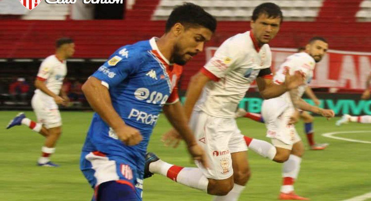 Unión de Santa Fe sacó punto ante Huracán. Foto: Facebook Club Unión de Santa Fe