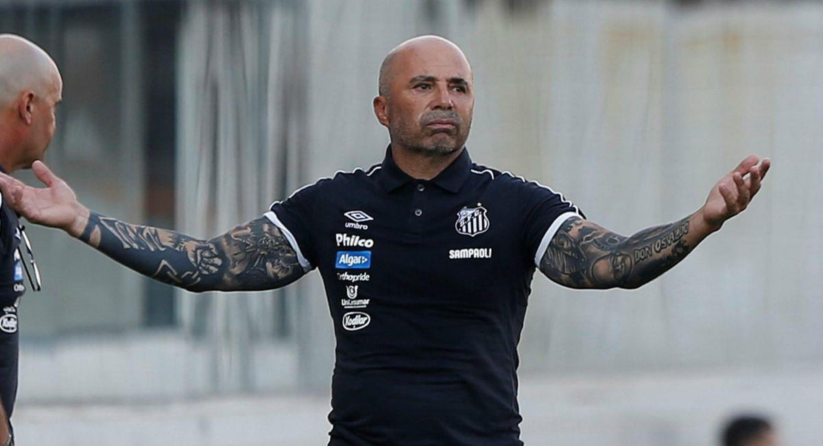 Jorge Sampaoli ya no estará en Atlético Mineiro. Foto: Twitter